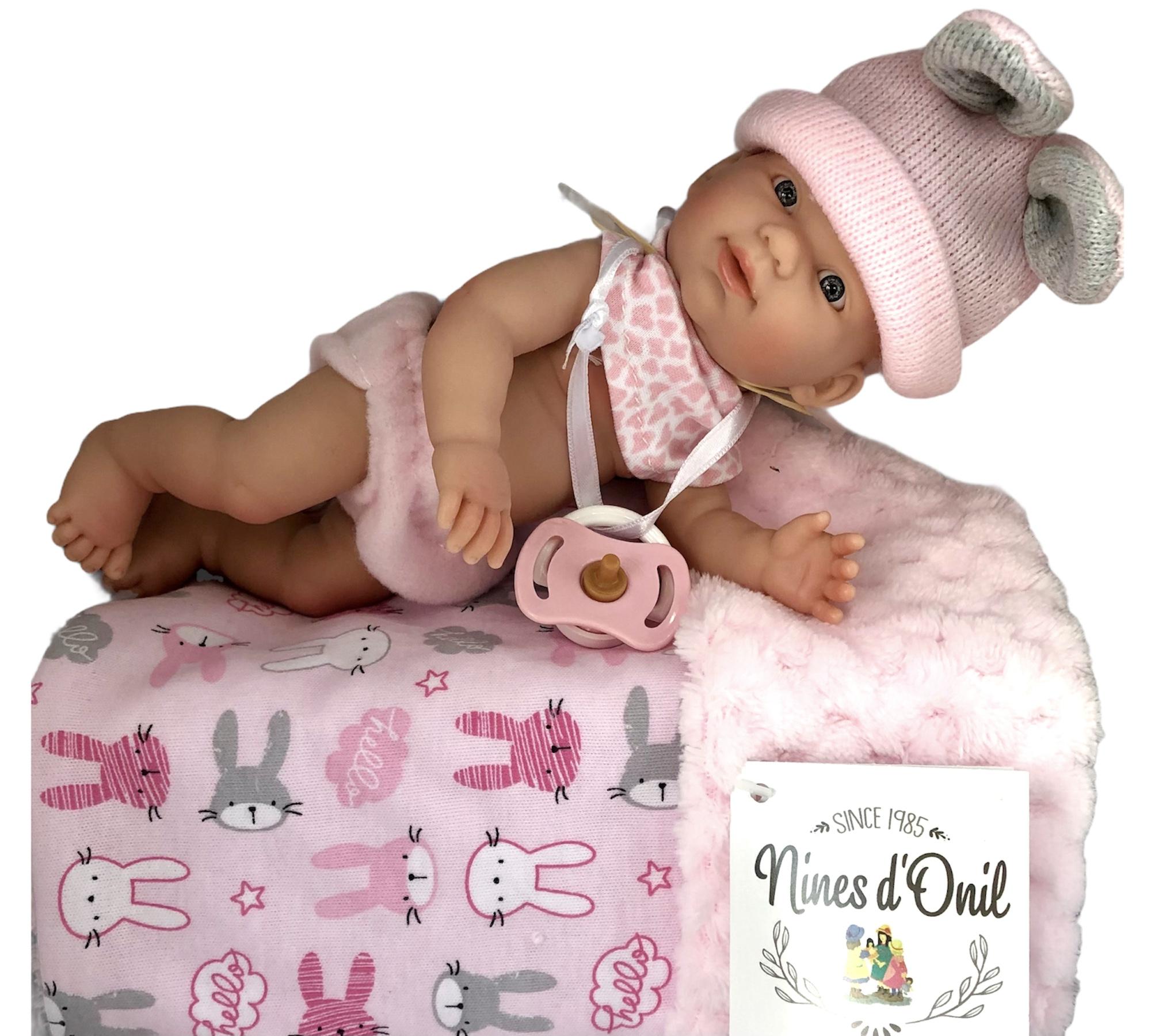 Nines d'Onil Puppe Golosinas New Born Puppe Girl - Mädchen