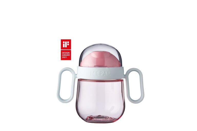MEPAL Antitropf-Trinklernbecher Mepal Mio 200 ml - deep pink
