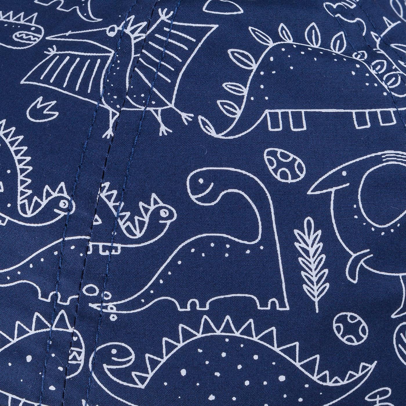 TUTU Kindermütze - Kappe mit Dino Muster Dinosaurier